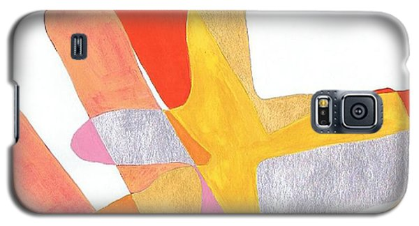 Karlheinz Stockhausen Tribute Falling Shapes Galaxy S5 Case by Dick Sauer
