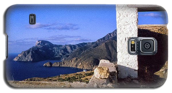 Galaxy S5 Case featuring the photograph Karpathos Island Greece by Silvia Ganora
