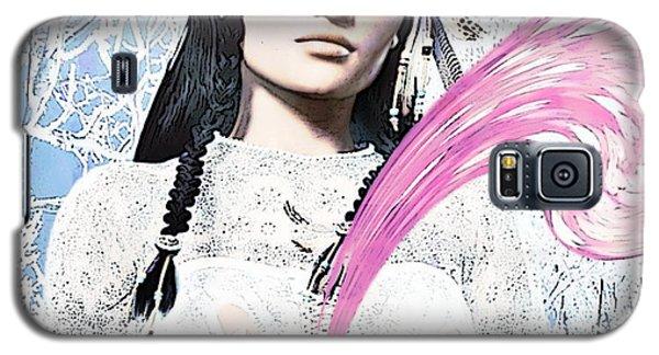 Kateri Tekakwitha Valentine Image Galaxy S5 Case