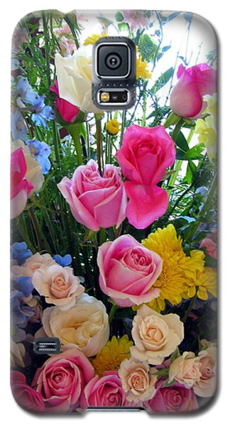 Kate's Flowers Galaxy S5 Case by Carla Parris