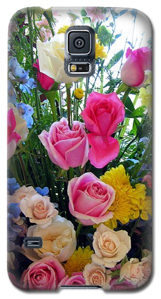 Kate's Flowers Galaxy S5 Case