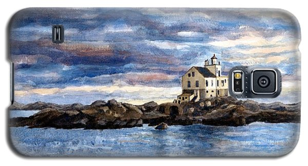 Katland Lighthouse Galaxy S5 Case by Janet King
