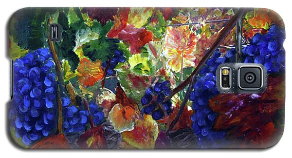 Katy's Grapes Galaxy S5 Case by Donna Walsh
