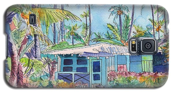 Kauai Blue Cottage 2 Galaxy S5 Case