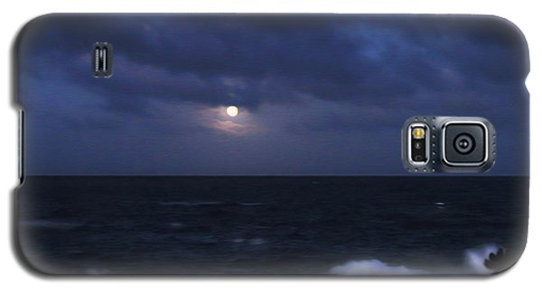 Kauai Moon At Poipu Galaxy S5 Case