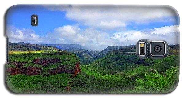 Kauai Mountains Galaxy S5 Case