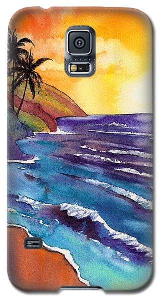Kauai Na Pali Sunset Galaxy S5 Case
