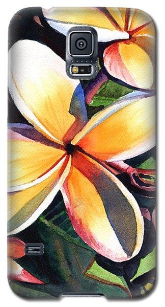 Kauai Rainbow Plumeria Galaxy S5 Case