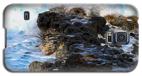 Kauai Rock Splash Galaxy S5 Case