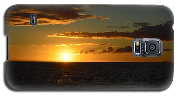 Galaxy S5 Case featuring the photograph Kauai Sunset by James McAdams