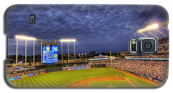 Kauffman Stadium Twilight Galaxy S5 Case