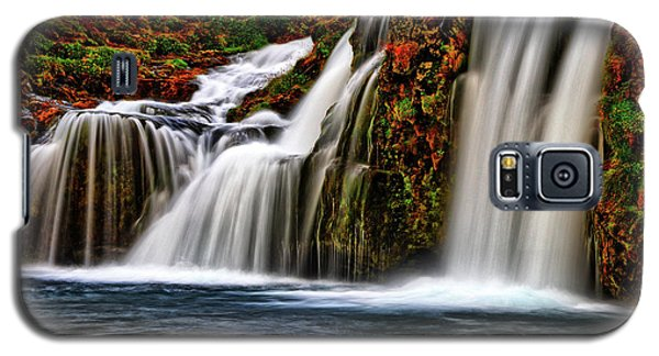 Galaxy S5 Case featuring the photograph Kay Falls by Scott Mahon