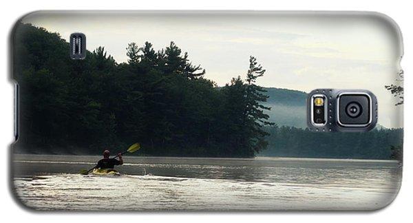 Kayak In The Fog Galaxy S5 Case