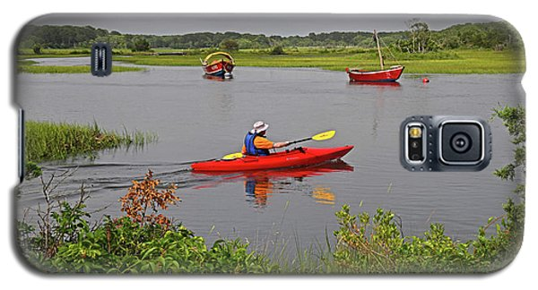 Kayaking On The Herring River Galaxy S5 Case