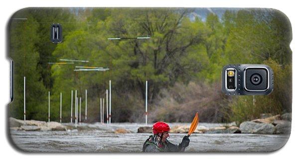 Kayaker On The Arkansas Galaxy S5 Case