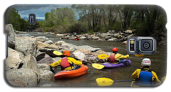 Kayaking Class Galaxy S5 Case