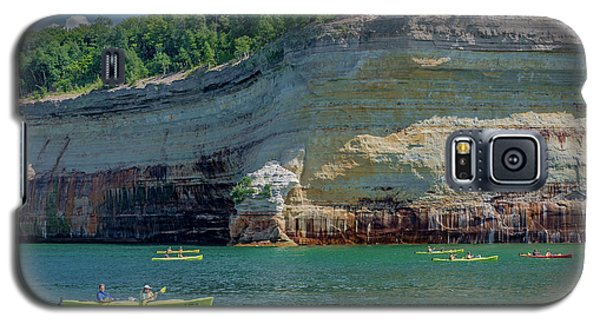 Kayaking The Pictured Rocks Galaxy S5 Case