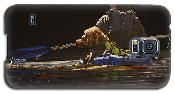 Kayaking With Your Best Friend Galaxy S5 Case