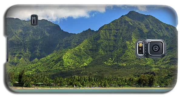 Kayaks In Hanalei Bay Galaxy S5 Case