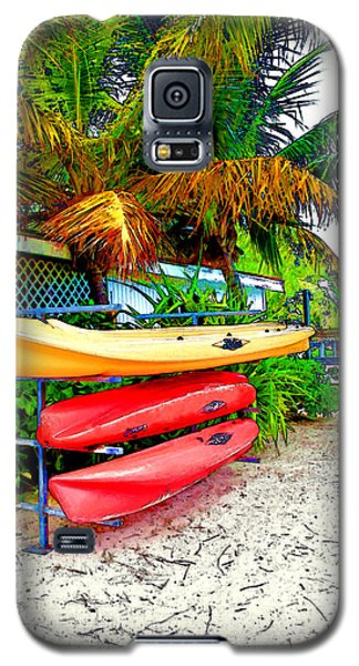 Kayaks In Paradise Galaxy S5 Case