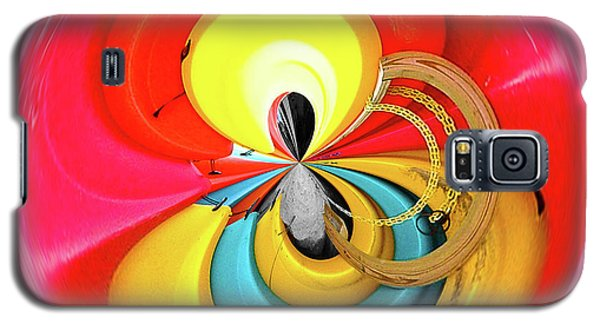 Kayaks Orb Galaxy S5 Case by Bill Barber