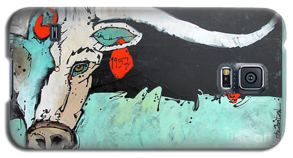 Kcr Longhorn 1937 Galaxy S5 Case