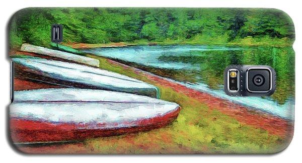Kearney Lake Beach Galaxy S5 Case