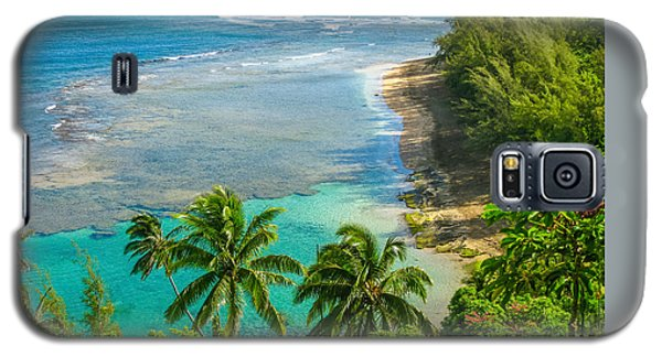 Kee Beach Kauai Galaxy S5 Case