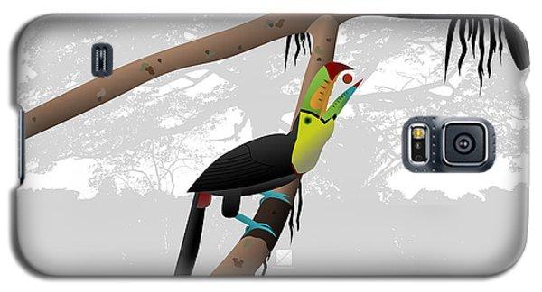Keel-billed Toucans Galaxy S5 Case