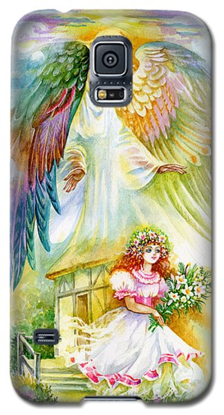Keep Her Safe Lord Galaxy S5 Case by Karen Showell
