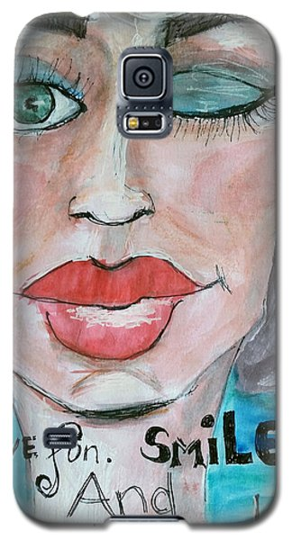 Keep Putting On Lipstick Galaxy S5 Case