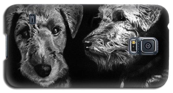 Keeper The Welsh Terrier Galaxy S5 Case by Peter Piatt