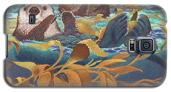 Otter Galaxy S5 Case - Keepers Of The Kelp by Tracy L Teeter