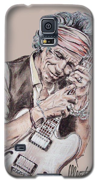 Keith Richards Galaxy S5 Case