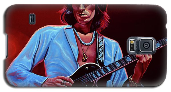 Keith Richards The Riffmaster Galaxy S5 Case
