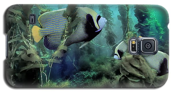 Kelp And Queen Anglefish Galaxy S5 Case