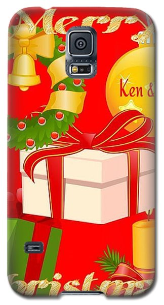 Ken And Lori Xmas Greeting  Galaxy S5 Case