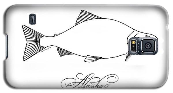 Kenai Sockeye Alaska Galaxy S5 Case