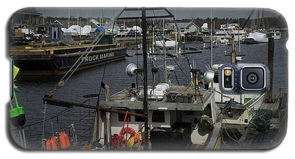 Kennebunkport Harbor In Early Winter Galaxy S5 Case