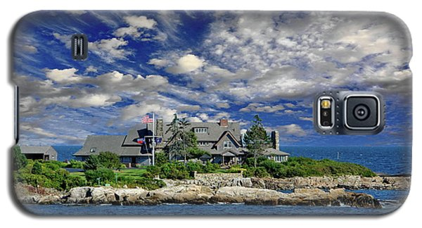 Kennebunkport, Maine - Walker's Point Galaxy S5 Case by Russ Harris