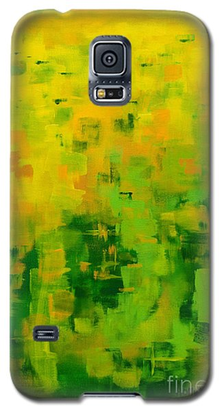 Galaxy S5 Case featuring the painting Kenny's Room by Holly Carmichael
