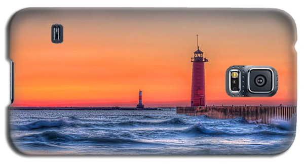 Kenosha Lighthouse Dawn Galaxy S5 Case