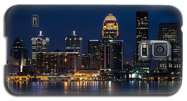 Louisville At Night Galaxy S5 Case by Andrea Silies