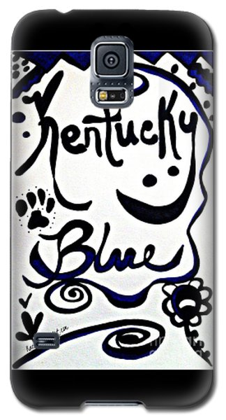 Kentucky Blue Galaxy S5 Case