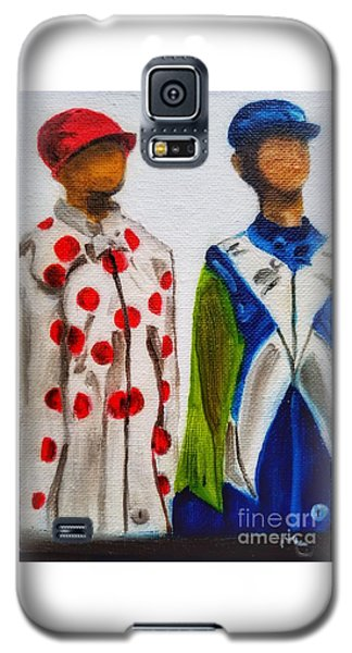 Kentucky Derby Jockey Mannequins Galaxy S5 Case