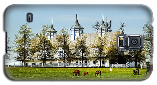 Revised Kentucky Horse Barn Hotel 2 Galaxy S5 Case