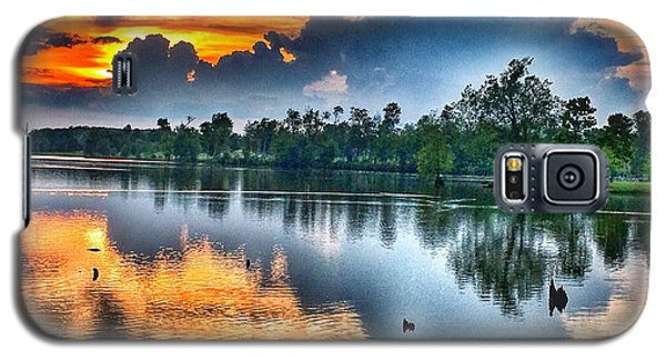 Galaxy S5 Case featuring the photograph Kentucky Sunset June 2016 by Sumoflam Photography