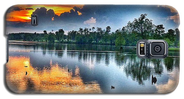 Kentucky Sunset June 2016 Galaxy S5 Case