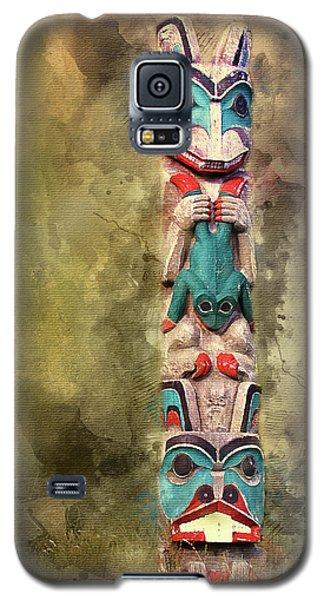 Ketchikan Alaska Totem Pole Galaxy S5 Case by Bellesouth Studio