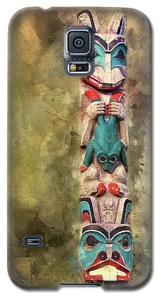 Ketchikan Alaska Totem Pole Galaxy S5 Case